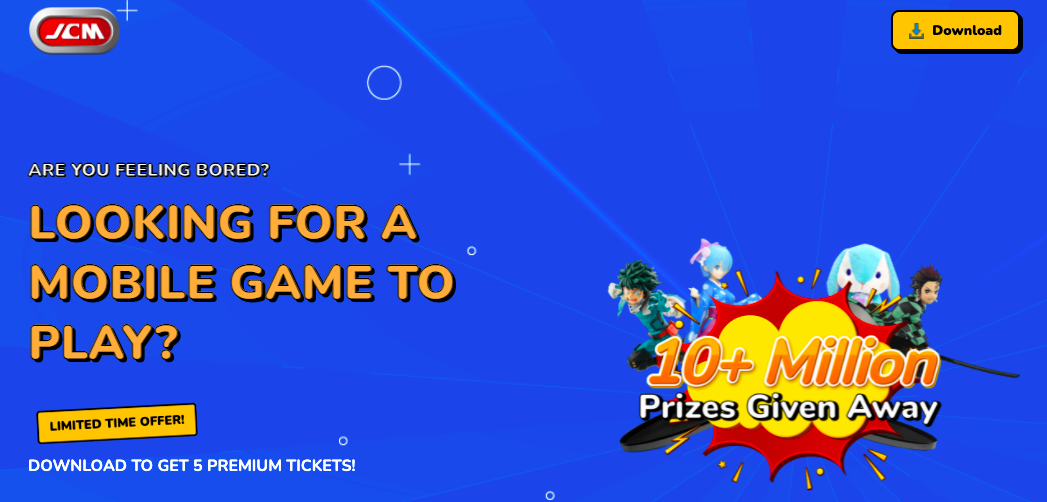 JCM: Real Prize Claw Machine App