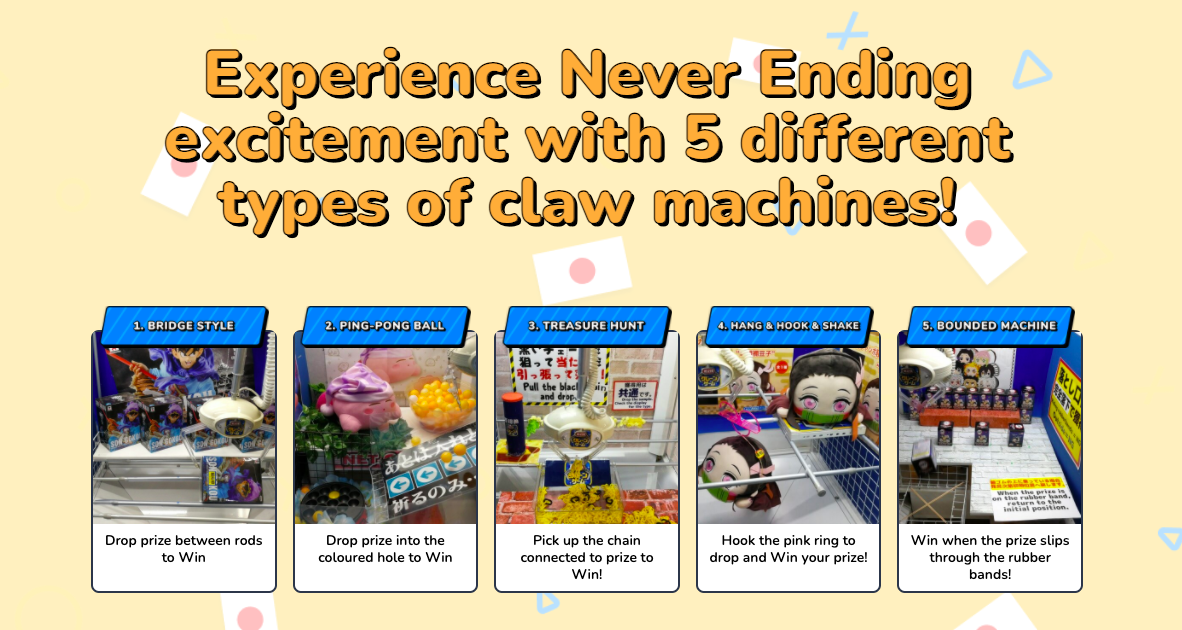 3 Anime Prizes from Japanese Real Claw Machine App